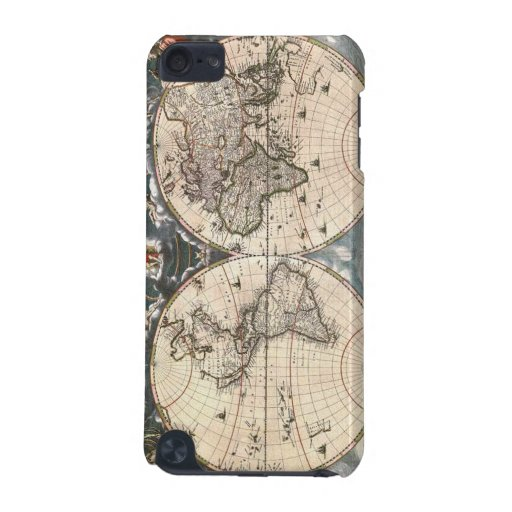 Cool Old World Map iPod Touch Cases