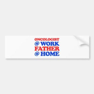 cool oncologist designs bumper sticker