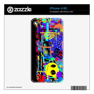 Cool, one of kind skin for your phone decal for the iPhone 4S