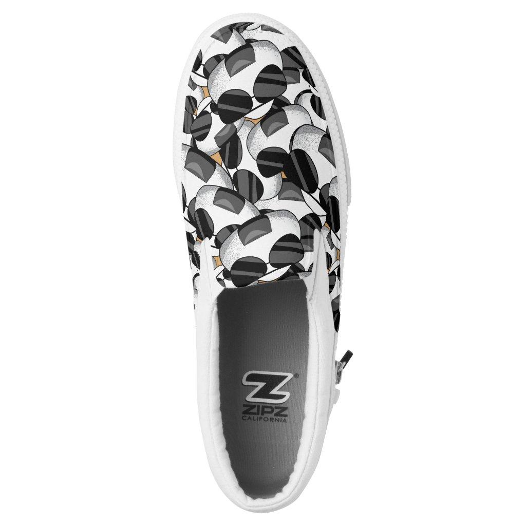 Cool onigiri pattern Slip-On sneakers