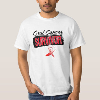 Cool Oral Cancer Survivor Tee Shirt