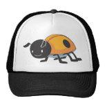Cool Orange Baby Ladybug Cartoon Trucker Hat