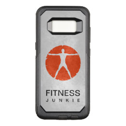 Cool Orange Body Madness Health And Fitness Junkie OtterBox Commuter Samsung Galaxy S8 Case