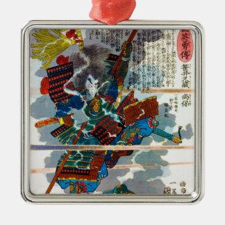 Cool orental japanese Legendary Samurai Bushi art Ornament