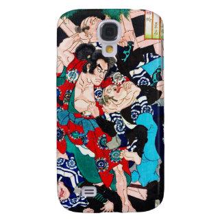 Cool oriental Ancient Samurai Warrior Fight art Galaxy S4 Case