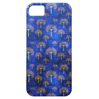 Cool oriental blue japanese abstract tree indigo iPhone SE/5/5s case