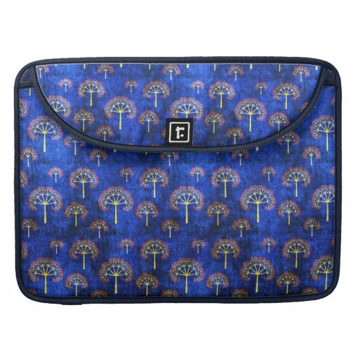 Cool  oriental blue pattern   sleeve sleeve for MacBook pro