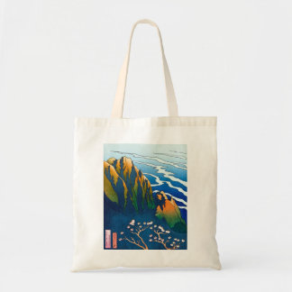 Cool oriental clasic traditional mountain pass art bag