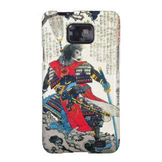 Cool oriental classic japanese samurai warrior art galaxy SII cases