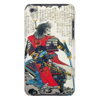 Cool oriental classic japanese samurai warrior art iPod touch cover