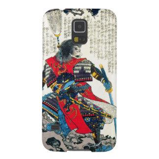 Cool oriental classic japanese samurai warrior art case for galaxy s5