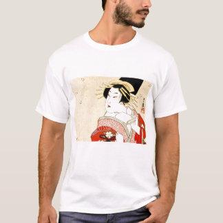Cool Oriental Japanese Agemaki tattoo art T-Shirt