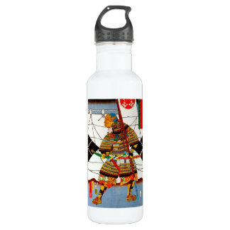 Cool oriental japanese Ancient Legendary General Water Bottle