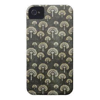 Cool oriental japanese black tree shape pattern iPhone 4 case