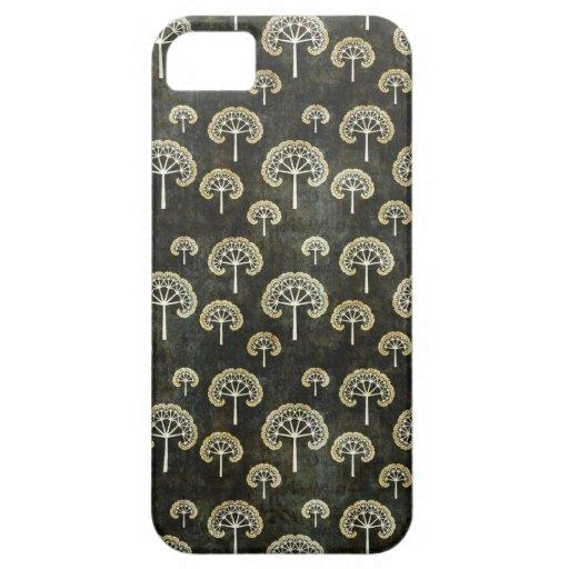 Cool oriental japanese black tree shape pattern iPhone 5 covers