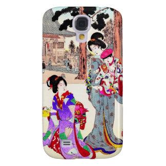 Cool oriental japanese classic geisha lady art samsung galaxy s4 cover