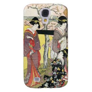 Cool oriental japanese classic geisha lady art galaxy s4 case