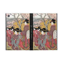 Cool oriental japanese classic geisha lady art cover for iPad mini