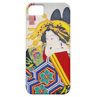 Cool oriental japanese classic geisha lady art iPhone SE/5/5s case