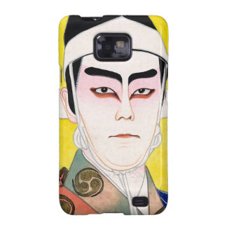 Cool oriental japanese classic kabuki painting samsung galaxy SII cover