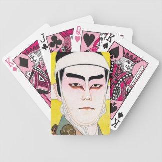 Cool oriental japanese classic kabuki painting card decks