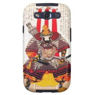 Cool oriental japanese classic samurai warrior art galaxy SIII case