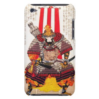 Cool oriental japanese classic samurai warrior art barely there iPod covers