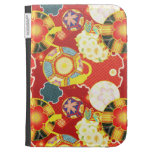 Cool oriental japanese colourful pattern kindle case