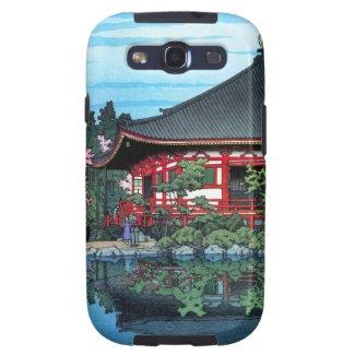 Cool oriental japanese Daigo Denpo temple art Samsung Galaxy SIII Cases