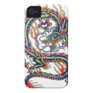 Cool oriental japanese dragon with orb tattoo iPhone 4 cover