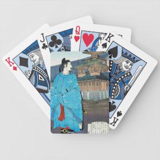 Cool oriental japanese emperor clasic art card deck