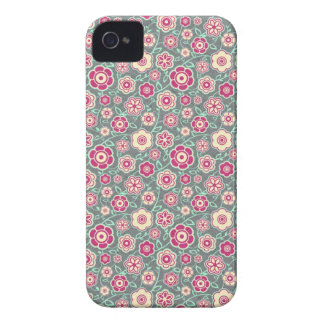 Cool oriental japanese floral flower pattern Case-Mate iPhone 4 cases