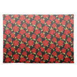 Cool  oriental japanese flowersplacemat placemats