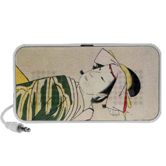 Cool Oriental Japanese Geisha tattoo art Laptop Speakers