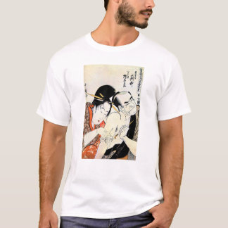 Cool Oriental Japanese Geisha Tattoo art T-Shirt