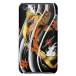 Cool oriental japanese Gold Lucky Koi Fish tattoo iPod Touch Cover
