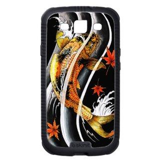 Cool oriental japanese Gold Lucky Koi Fish tattoo Samsung Galaxy SIII Cases
