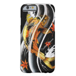 Cool oriental japanese Gold Lucky Koi Fish tattoo Barely There iPhone 6 Case