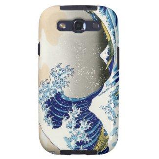 Cool oriental japanese Hokusai Fuji View landscape Samsung Galaxy S3 Case
