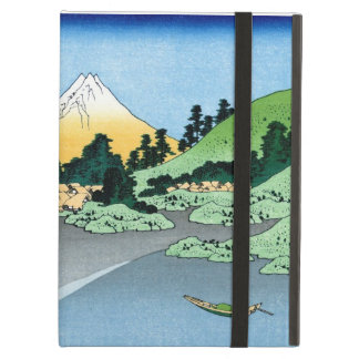 Cool oriental japanese Hokusai Fuji View landscape iPad Air Case