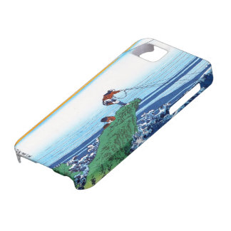 Cool oriental japanese Hokusai Fuji View landscape iPhone SE/5/5s Case