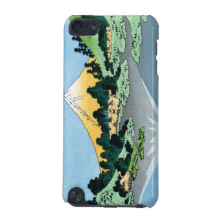 Cool oriental japanese Hokusai Fuji View landscape iPod Touch (5th Generation) Case