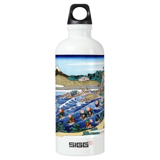 Cool oriental japanese Hokusai Fuji View landscape SIGG Traveler 0.6L Water Bottle
