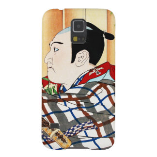 Cool oriental japanese Kabuki Actor Portrait art Case For Galaxy S5