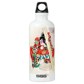 Cool Oriental Japanese Kagekiyo tattoo Aluminum Water Bottle