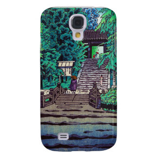 Cool oriental japanese Kasamatsu forest entrance Galaxy S4 Case
