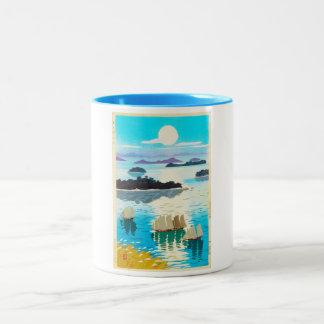 Cool oriental japanese Kawai Kenji Sunset Lake Coffee Mug