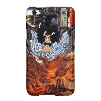 Cool oriental japanese Kuniyoshi bushi spirit art Galaxy SII Cover
