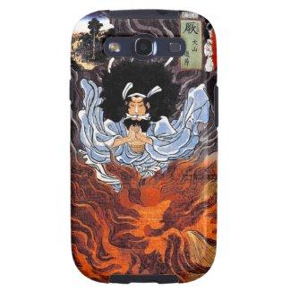 Cool oriental japanese Kuniyoshi bushi spirit art Galaxy SIII Case