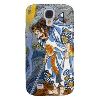 Cool oriental japanese Kuniyoshi legendary warrior Galaxy S4 Case